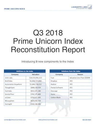 Q3 Reconstitution Report 2018